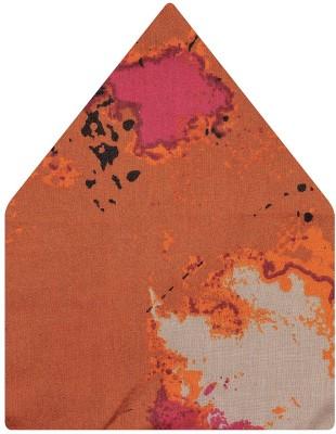 Tiekart Self Design Linen Pocket Square