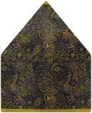 Tiekart Floral Print Polyester Pocket Sq...
