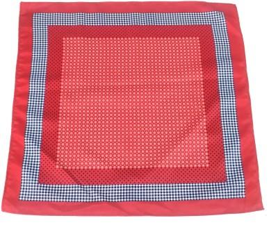 Sir Michele Printed Microfibre Pocket Square
