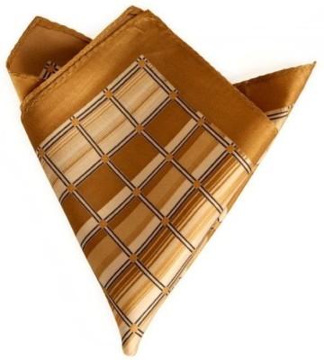 The Vatican Checkered Silk Pocket Square