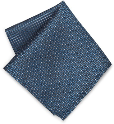 Peter England Geometric Print Micro Polyester Pocket Square