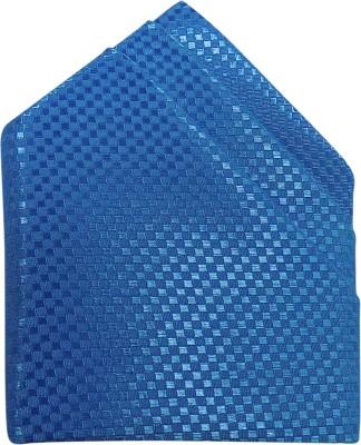 Serebroarts Checkered Polyester Pocket Square
