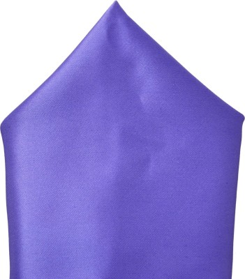 Silverbull Solid Satin Pocket Square