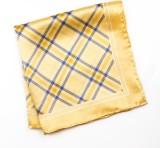 69th Avenue Checkered Silk Pocket Square