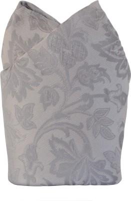 Jupi Floral Print Micro Polyester Pocket Square