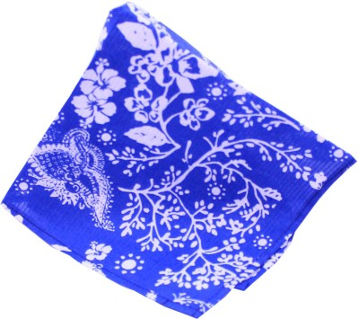 MOODS AND HUES Printed Cotton Pocket Square