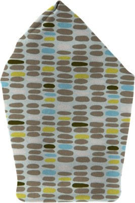 The Fappy Store pebbles Printed Microfibre Pocket Square