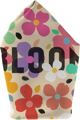 The Fappy Store Bloom Printed Microfibre Pocket Square