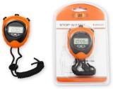 Burn Digital Stop Watch (Orange, Black)