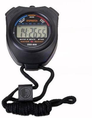 TRISHA Analog pocket stop watch(Black)