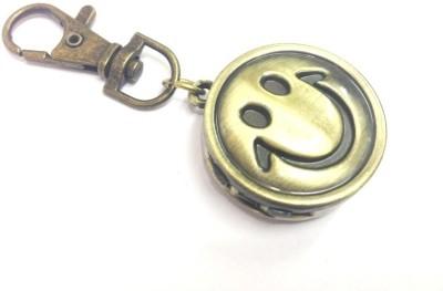 Kairos Designer Smiley Keychain Analog Pocket Watch