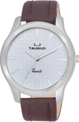 Taurus ANALOG WRIST WATCH(WHITE)