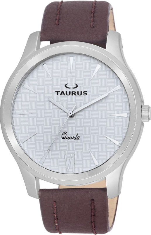Taurus ANALOG WRIST WATCH(WHITE)