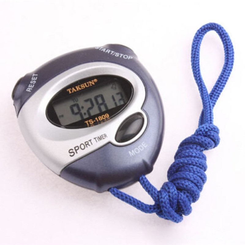 Taksun Digital Pocket Stop Watch(Blue)