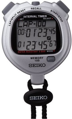 Seiko Digital Pocket Watch(Grey, Black)