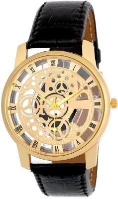 Reiz Analog Transparent Dial Wrist Watch