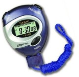 Divinext LCD Pocket Stop Watch (Blue)