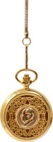 Bromstad Antique 1002GG I P Gold Plating Metal Pocket Watch Chain( )