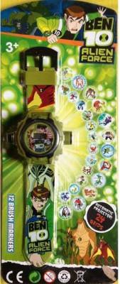 A R ENTERPRISES Ben 10 Watch ben10 Watch Rubber Pocket Watch Chain