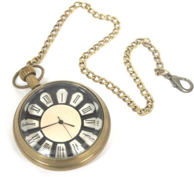 Artondoor New Anh-1604 Antique Finish On Brass Pocket Watch Chain( )