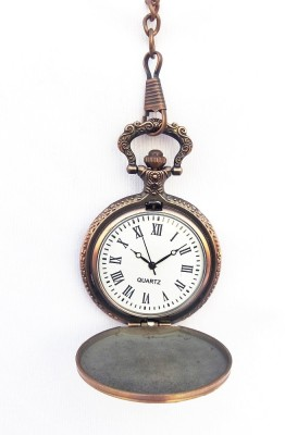 Kartique Vintage Style POKWATHORK16 Chrome Plated Alloy Pocket Watch Chain( )