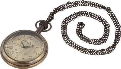 Artshai Anchor Design 2149 Anique Look Brass Pocket Watch Chain( )