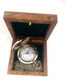 Artshai Metallic Pocket Watch Artshai216...