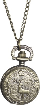 Picket Fence Deer PW005 Bronze Alloy Pocket Watch Chain