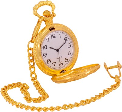 Times Antique Gold Color Chrome-Plated Metal Pocket Watch Chain( )