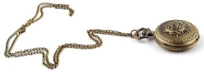 Picket Fence Rose PW003 Bronze Alloy Pocket Watch Chain