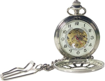 IndiSmack Mechanical MPW-01 Chrome Plated Alloy Pocket Watch Chain