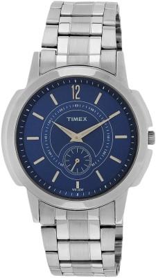Timex Timex Gents Watch TW000U309 steel Steel Pocket Watch Chain