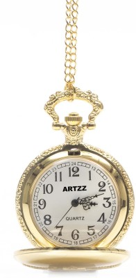 Artzz Goldy JIST69 Gold-Plated Alloy Pocket Watch Chain