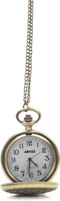 Artzz Copergo Helt Gold-Plated Alloy Pocket Watch Chain