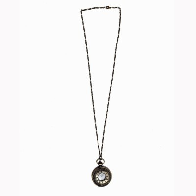 Onlineworld Designer SL001 Chrome Plated Stainless steel Pocket Watch Chain( )