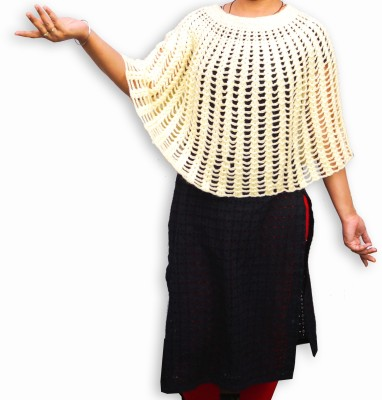 Excel Crafts Woven Poncho