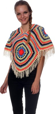 MOM's Touch Wool Poncho