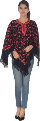 Quetzal Woolen Poncho