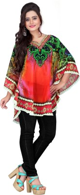 7 Colorslifestyle Georgette Poncho