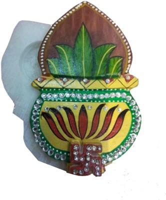 Advance Hotline Handicrafts Handmade Products Marble Pooja & Thali Set