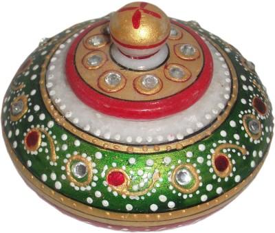 krishna art Marble Pooja & Thali Set