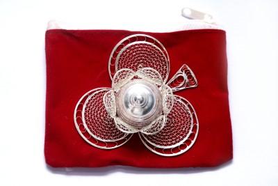 Ojas Sindoor Dabbi Silver Plated Pooja & Thali Set