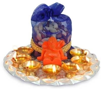 Gifts By Meeta Iron Pooja & Thali Set