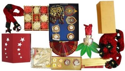 Astu Festive Packs Plastic, Paper Pooja & Thali Set