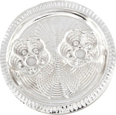 India Shoppe Silver Plated Pooja & Thali Set