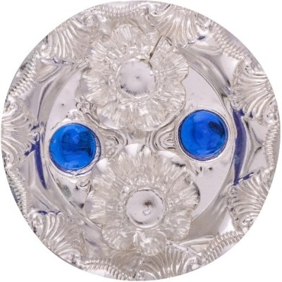 RajLaxmi Silver Plated Pooja & Thali Set