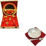 Satyan Pooja Thali With Bowl And Spoon S...