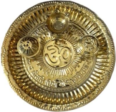 Divine Temples Brass Pooja & Thali Set