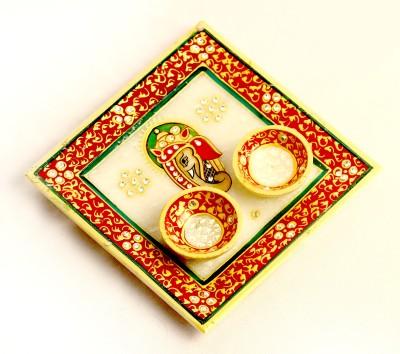Aakashi Marble Pooja & Thali Set