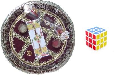 sreshta Steel Pooja & Thali Set